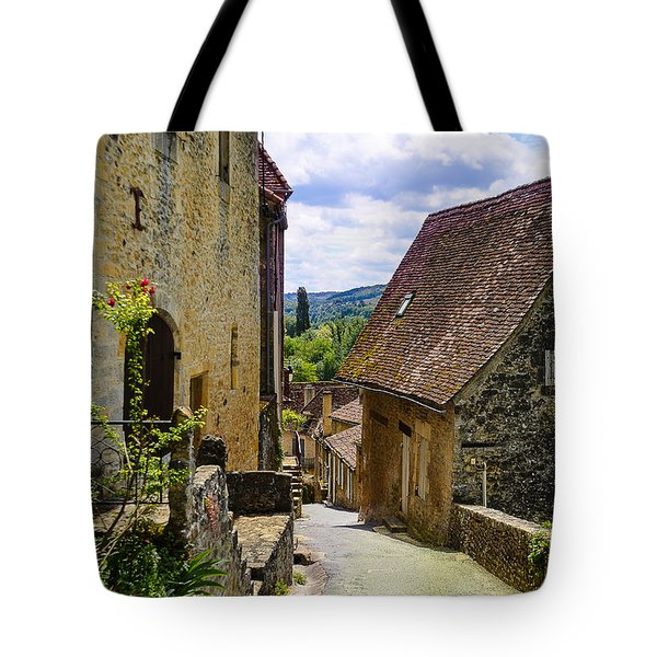 Tote Bag featuring the photograph Limeuil En Perigord - France by Dany Lison