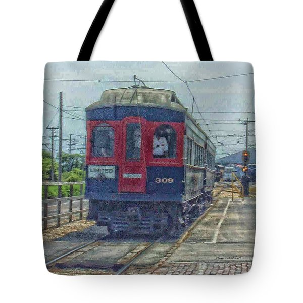 Limited 309 Tote Bag by Thomas Woolworth