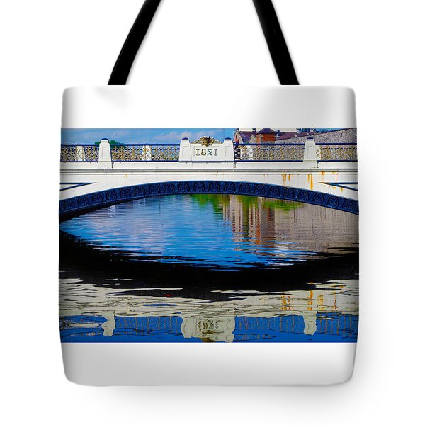 Sean Heuston Dublin Bridge Tote Bag