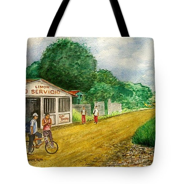 Limon Costa Rica Tote Bag by Frank Hunter