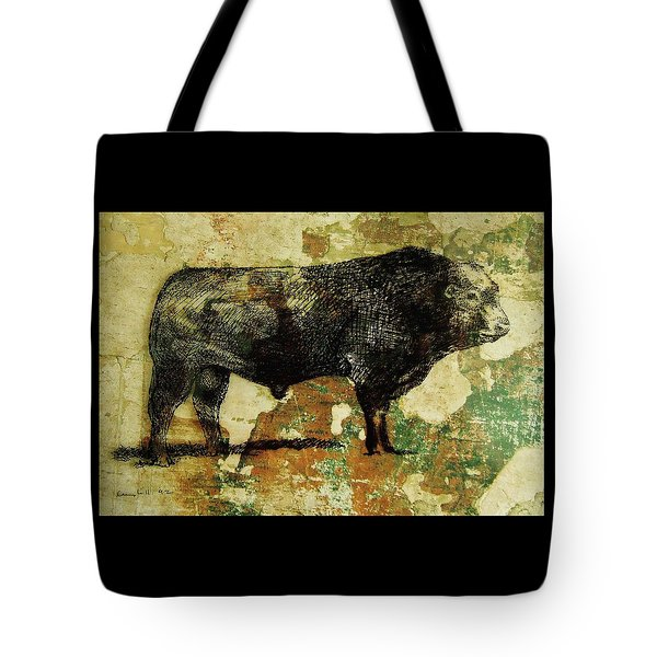 French Limousine Bull 11 Tote Bag