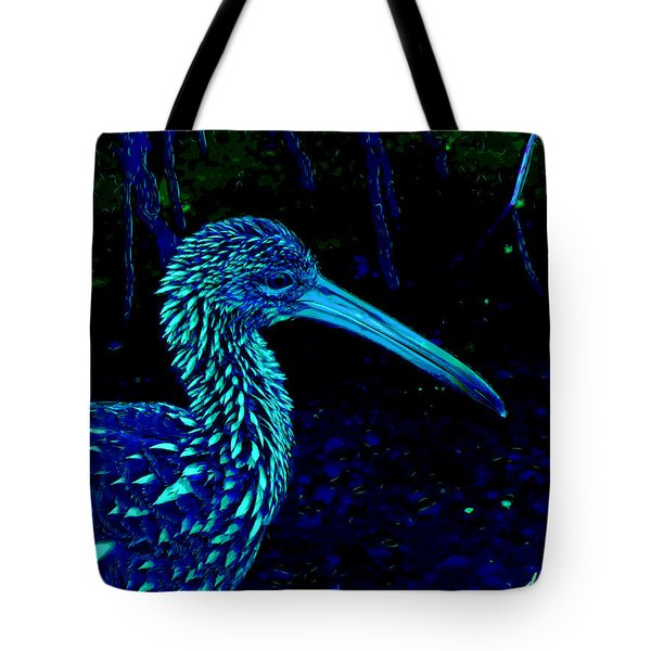 Tote Bag featuring the painting Limpkin by David Mckinney