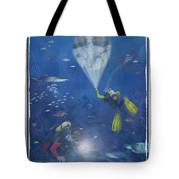 Lincoln Diving Center Tote Bag by Mike McGlothlen