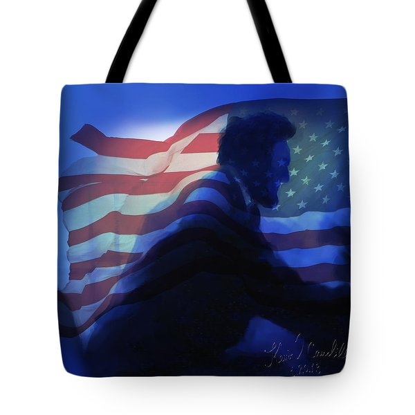 Lincoln Tote Bag by Kevin Caudill