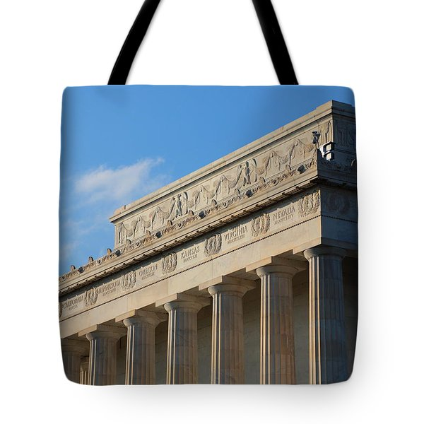 Lincoln Memorial - The Details Tote Bag