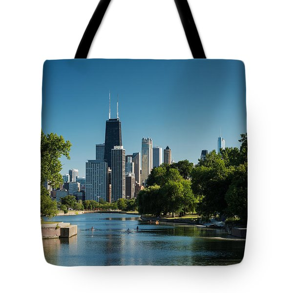 Lincoln Park Chicago Tote Bag
