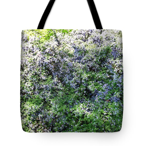 Lincoln Park In Bloom Tote Bag