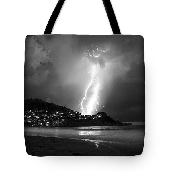 Linda Mar Lightning Tote Bag