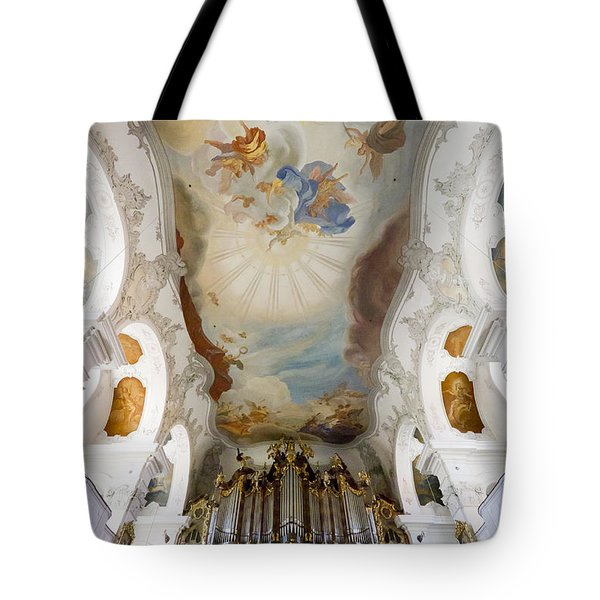 Lindau Organ And Ceiling Tote Bag