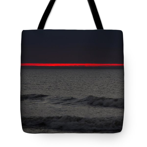 Line Of Fire Tote Bag