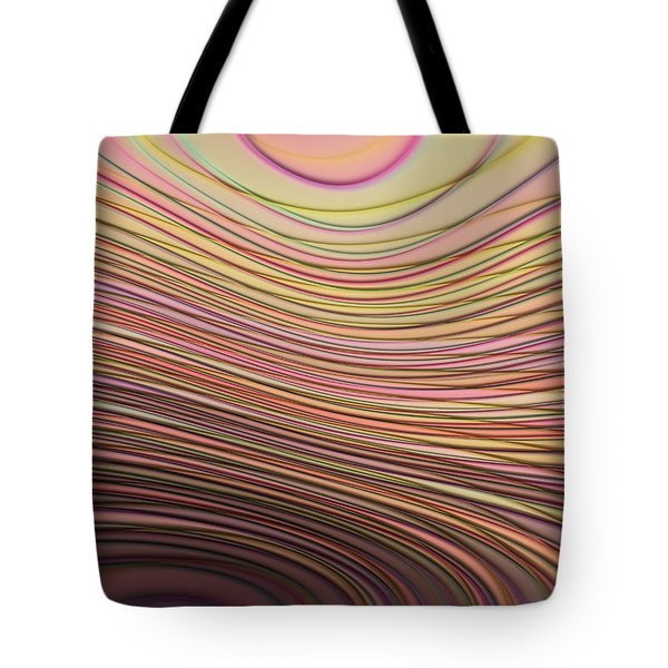 Lines And Circles -p08a Tote Bag by Variance Collections