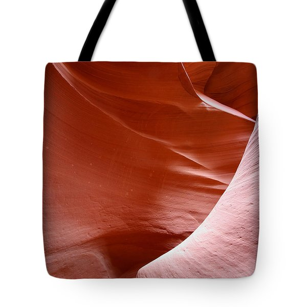 Lines And Light In The Canyon Tote Bag