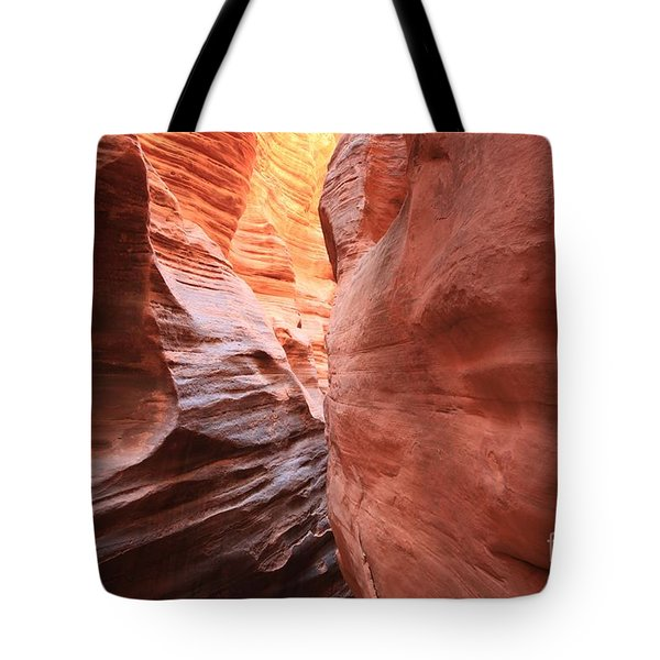 Lines Colors And Twists Tote Bag