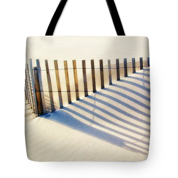 Lines In The Sand Tote Bag