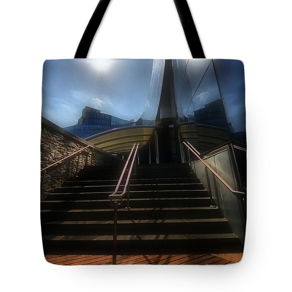 Tote Bag featuring the photograph Lines N Textures by Robert McCubbin