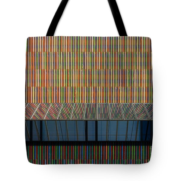Lines - Pop Tote Bag by Hannes Cmarits