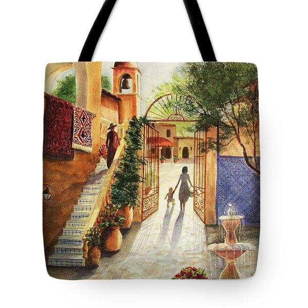 Lingering Spirit-sedona Tote Bag