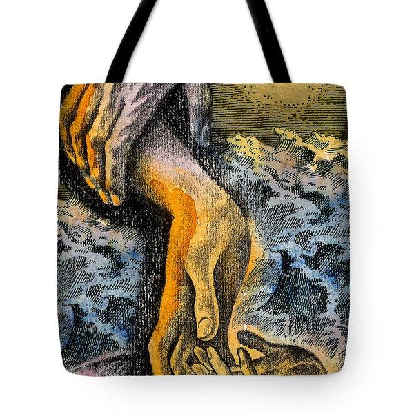 Link Tote Bag by Leon Zernitsky