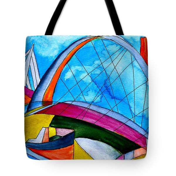 Linking Tote Bag by Beverley Harper Tinsley