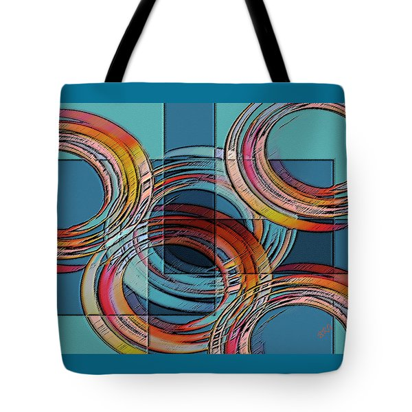 Links Tote Bag by Ben and Raisa Gertsberg