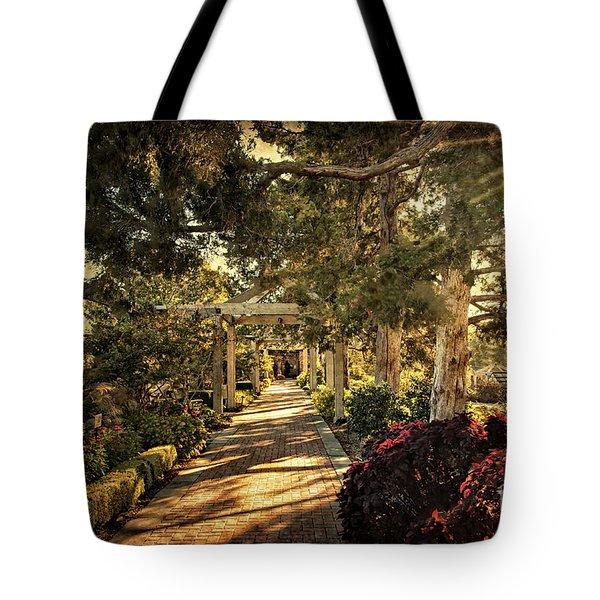 Linnaeus Teaching Garden Tote Bag by Tamyra Ayles