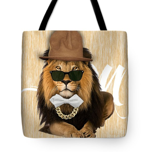 Lion Collection Tote Bag