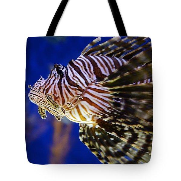 Lion Fish Tote Bag