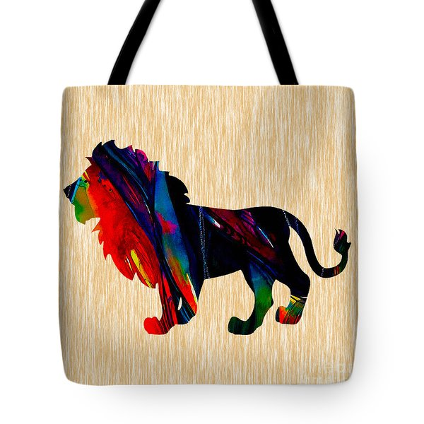 Lion King Of The Jungle Tote Bag by Marvin Blaine