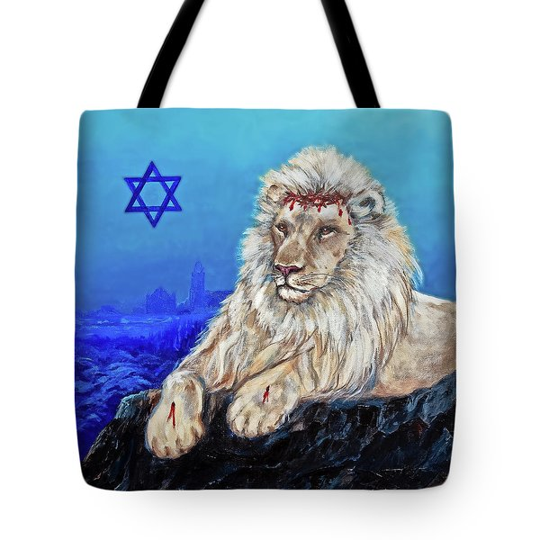 Lion Of Judah - Jerusalem Tote Bag