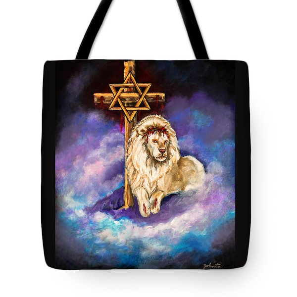 Lion Of Judah Original Painting Forsale Tote Bag