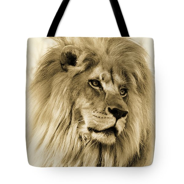 Lion Tote Bag by Swank Photography
