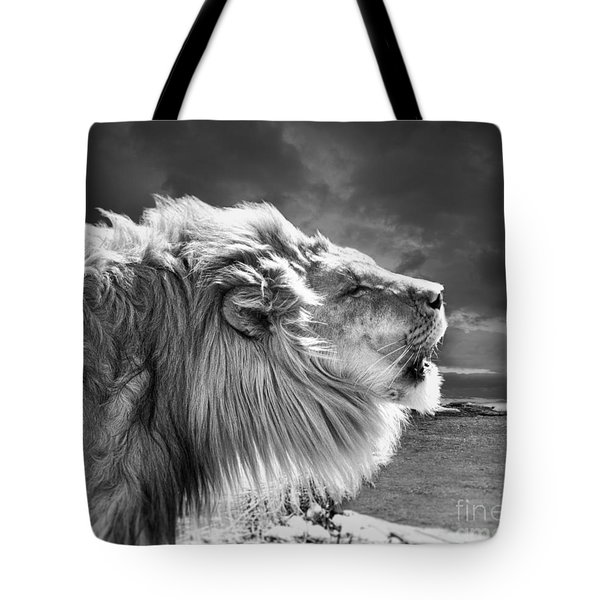 Lions Breath Tote Bag