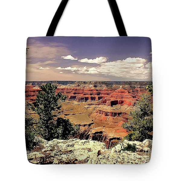 Lipan Point  Grand Canyon Tote Bag by Bob and Nadine Johnston