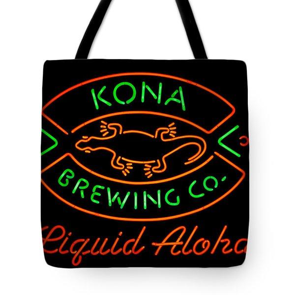 Liquid Aloha Tote Bag by Dan McManus