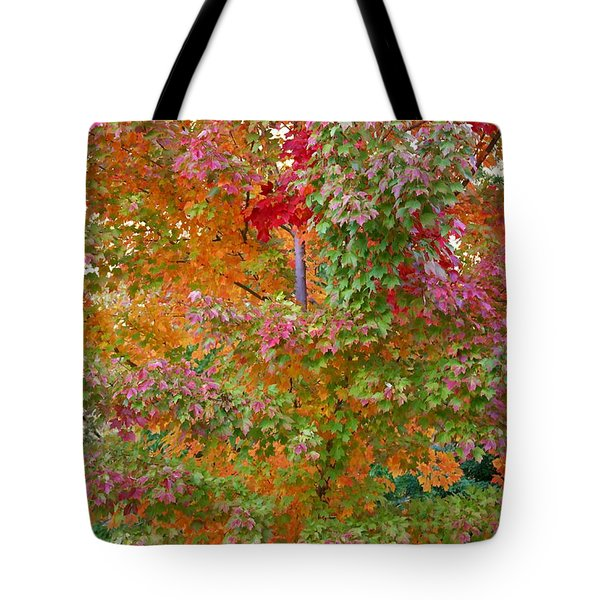 Liquid Amber Magic Tote Bag