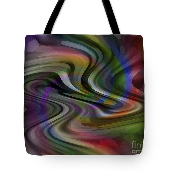 Liquid Car Tote Bag