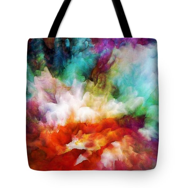 Liquid Colors - Original Tote Bag by Lilia D