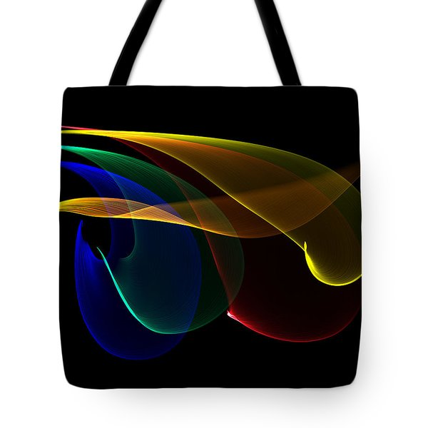 Liquid Colors Tote Bag