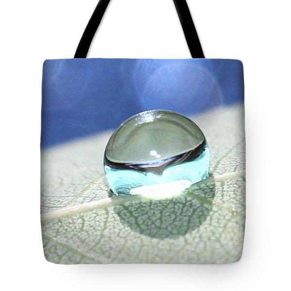 Liquid Drop Tote Bag