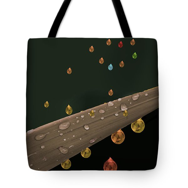 Liquid Gold Tote Bag by Angela A Stanton