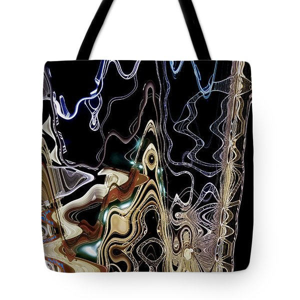 Tote Bag featuring the photograph Liquid Metal II by Pennie  McCracken