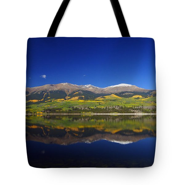 Liquid Mirror Tote Bag
