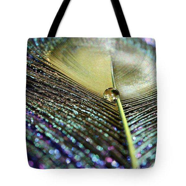 Liquid Reflection Tote Bag