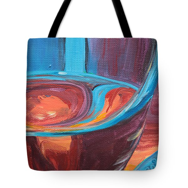 Liquid Sway Tote Bag