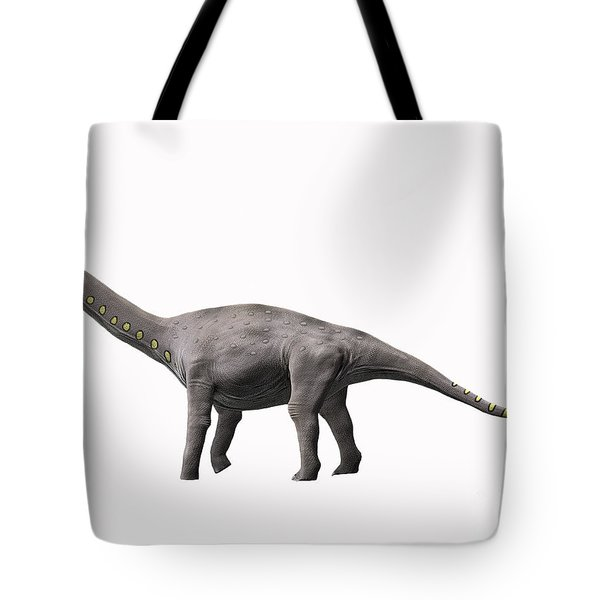 Lirainosaurus Astibae, Late Cretaceous Tote Bag by Nobumichi Tamura