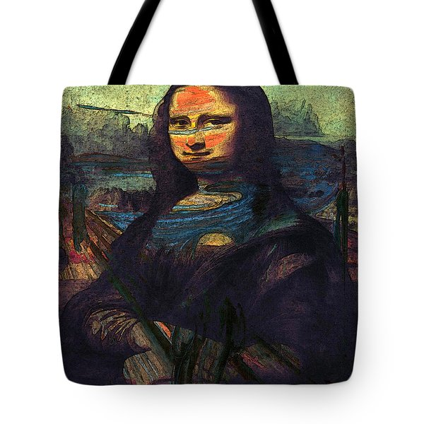 Lisa Munch Scream  Tote Bag
