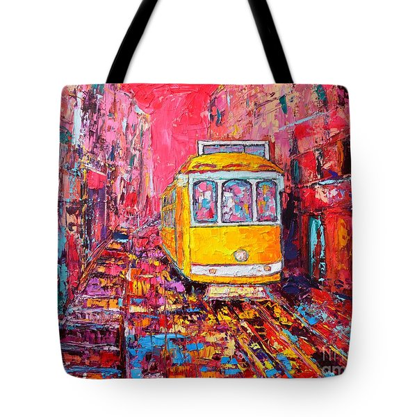 Lisbon Impression Tote Bag by Ana Maria Edulescu