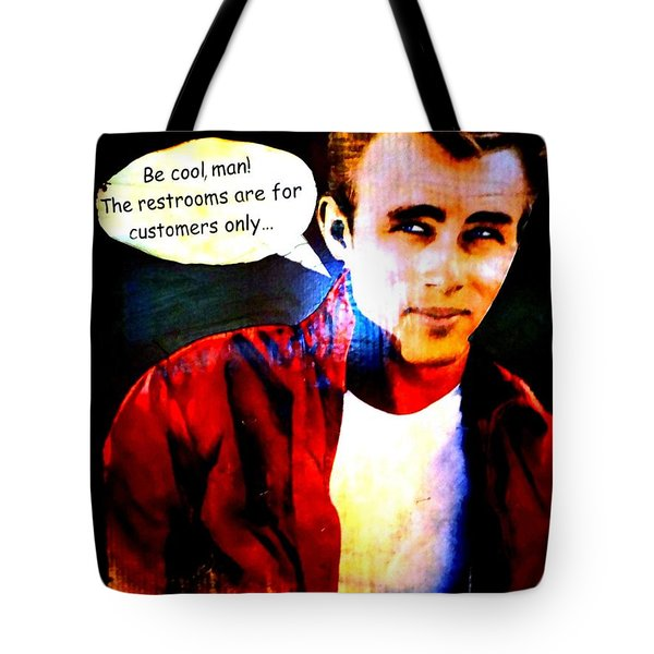 Listen To James Tote Bag by Ed Weidman