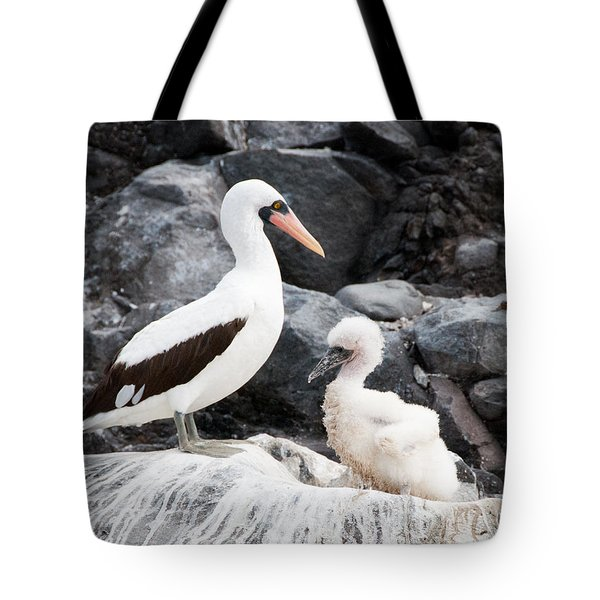 Listen Up Son Tote Bag by William Beuther