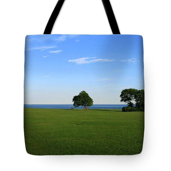 Listening To The Breeze  Tote Bag by Neal Eslinger